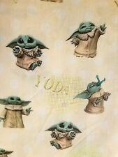 Yoda the child woven cotton F/Q