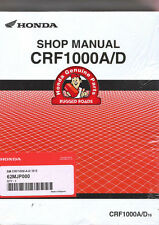 Resistente carreteras-Oem Honda Manual De Taller-crf1000a/d (2016 >)