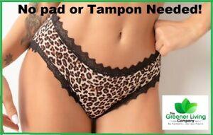 4-Layer Leak Proof Period Pants Washable Reusable Eco Friendly Menstrual Briefs