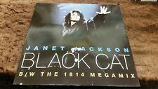 "JANET JACKSON 12"" SINGLES LOT - ALRIGHT/Black cat ex conditon"