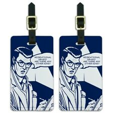Recreational Drugs Any Other Kind Funny Luggage ID Tags Cards Set of 2