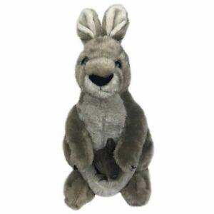 "Kangaroo with Joey soft plush toy 12""/30cm stuffed animal Wild Republic NEW"