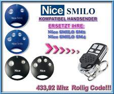 Nice SMILO SM2 / Nice SMILO SM4 kompatibel handsender / 433,92MHz Rolling code