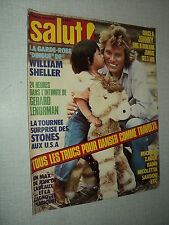 SALUT 064 (26/7/78) JOHNNY HALLYDAY ROLLING STONES NICOLETTA DUTEIL LENORMAN