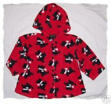 GYMBOREE Girls PLAID PUPPY Jacket Scottie Dog S 18 24