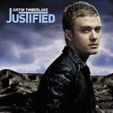 Justified by Justin Timberlake (CD, Nov-2002, Jive) FACTORY SEALED