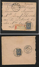 Russia  nice registered cover to Switzerland  1911            APL0302