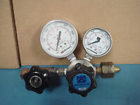 Matheson 63-3112 & 63-2233 (#4) with Regulator Valve and Two Gauges