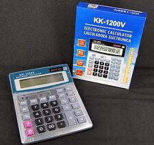 CALCULADORA GRANDE ELECTRONICA 12 DIGITOS IDEAL TIENDA, TIENDAS, EMPRESA