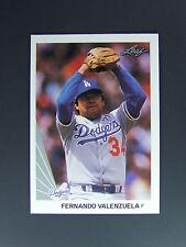 Fernando Valenzuela Mickey Hatcher 1990 Leaf Wrong Back Error Card Dodgers