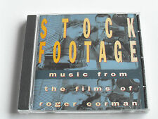 Stock Footage - Music From The Films Of Roger Corman (CD Album) Used Very Good