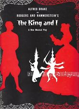 "Alfred Drake ""KING AND I"" Sal Mineo / Rodgers & Hammerstein 1953 Program"
