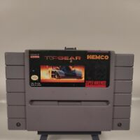 TOP GEAR Super Nintendo SNES Game - Tested, Working & Authentic!