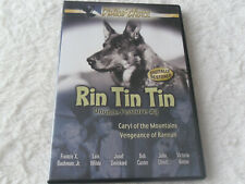 RIN TIN TIN (DOUBLE FEATURE) DVD * CARYL OF THE MOUNTAINS & VENGENCE OF RANNAH