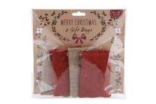 Decorazioni rosso senza marca per albero di Natale