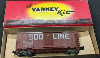 VARNEY: SOO LINE #45398 BROWN REEFER BOXCAR HO VINTAGE, BOXED