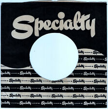SPECIALTY RECORDS COMPANY 45RPM RECORD SLEEVE - EXCELLENT CONDITION
