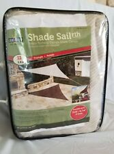 COOLAROO Ready To Hang SUN SHADE Sail Triangle 13 ft x 13 ft x 13 ft Beige NEW
