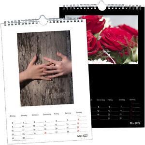 Premium Bastelkalender 2022 Fotokalender A4 für eigene Fotos selber gestalten