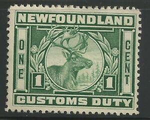 Canada Revenue - Newfoundland - Van Dam no NFC4 - VF - No gum