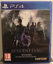PS4 RESIDENT EVIL 6 Game