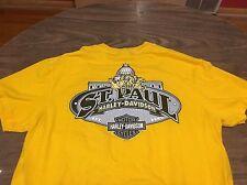 St. Paul Minnesota Harley Davidson Motorcycles Large T Shirt