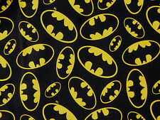 FAT QUARTER  BATMAN  SUPERHERO DC COMICS COTTON FABRIC  DARK KNIGHT QUILTING  FQ
