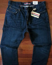 Tommy Hilfiger Classic Straight Leg Jeans Men's Size 29 X 30 Low Rise Dark Wash