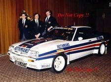 Henri Toivonen & Walter Rohrl & Jimmy McRae Opel Ascona 400 1982 Photograph 1