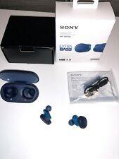 Sony Wf-Xb700 Truly Wireless Headset with Extrta Bass - Blue