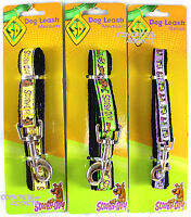 Scooby Doo Dog Leash Small, Medium, Large 4ft New Doggie Puppy Lead green purple