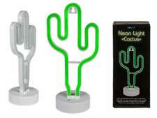 CACTUS NEON FUNKY LIGHT DESK TABLE LAMP NEW IN GIFT BOX