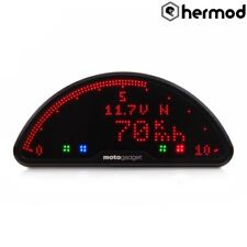 Motogadget Motoscope Pro Digital Motorcycle Motorbike Speedo - Black