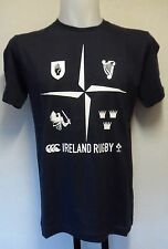 IRELAND RUGBY 4 POINT PROVINCE TEE SHIRT BY CANTERBURY SIZE ADULTS SMALL BNWT