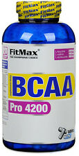 Fitmax BCAA PRO 4200mg - 120 Tabs - Protein Amino Acids Muscle Build 40 Servings