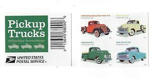 *Mint USPS Forever Stamps. Classic Pickup Trucks. 2016. Block of 4