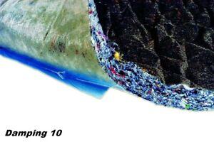 Intertechnik Damping 10 selbstklebende Dämmmatte Resonanzdämmung auch im Auto