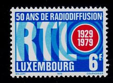 LUXEMBOURG   SCOTT# 634 MNH  RADIO, BROADCASTING  TOPICAL