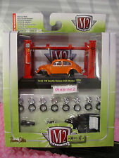 M2 Machines Model-Kit 1956 VW BEETLE DELUXE USA MODEL∞Orange VOLKSWAGEN Bug❀