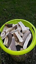 Geweih Kauknochen Kaugeweih Geweihsnack Mineraldepot für Hunde vom Hirsch 200 gr