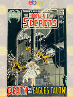 House of Secrets #91 (8.0) VF By Neal Adams 1971 Bronze Age DC Comics Key Issue