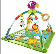 Baby Rainforest Melodies and Lights Deluxe Gym And Music To Baby Movement Lights