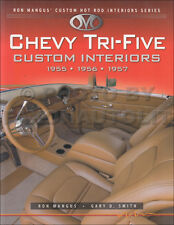 1955 1956 1957 Chevy Custom Interiors Guide Bel Air 210 Nomad Hot Rod Upholstery