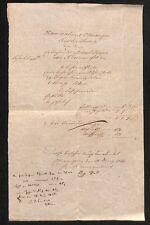 histor. Dokument, Ellwangen Kameralamt 1832   #E946