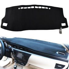 DashMat SuedeMat Dashboard Cover Toyota Corolla Faux-Suede, Black