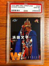 2000 BBM Ayako Hamada Wrestling Card PSA 10 WWE WCW ECW TNA JAPAN RC RARE