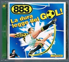 883 MAX PEZZALI LA DURA LEGGE DEL GOL! PALLINA + MINI ALBUM + FIGURINE CD F.C.