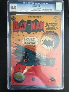 Batman 59 First Appearance of Deadshot 4.0 CGC
