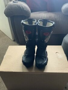 SIDI Ladies Motorcycle Boots, Black, UK 4