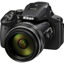 Nikon COOLPIX P900 16MP Digital Camera with 83x Optical Zoom Lens (Black)